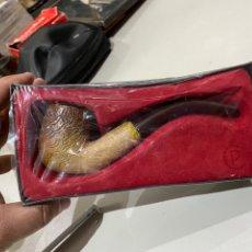 Pipas de fumar: PIPA PARA FUMAR MARCA P NUEVA EN CAJA PARA COLECCIONAR. Lote 193951391