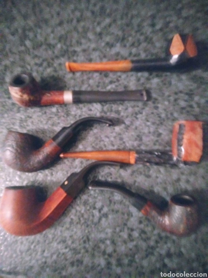Pipas de fumar: Pipas de madera de colección. - Foto 4 - 194206281