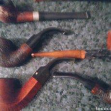 Pipas de fumar: PIPAS DE MADERA DE COLECCIÓN.. Lote 194206281
