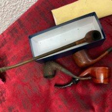 Pipas de fumar: LOTE DE 4 PIPAS DE FUMAR. Lote 194215793