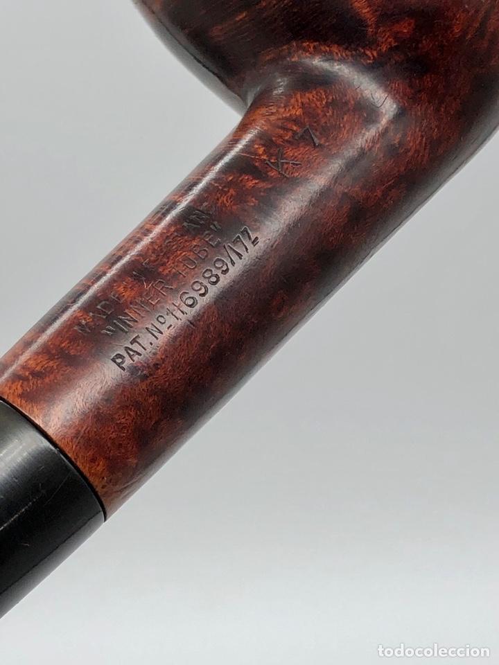 Pipas de fumar: Antigua pipa DUNHILL INNER TUBE pat.116989/17 - Foto 5 - 194285526