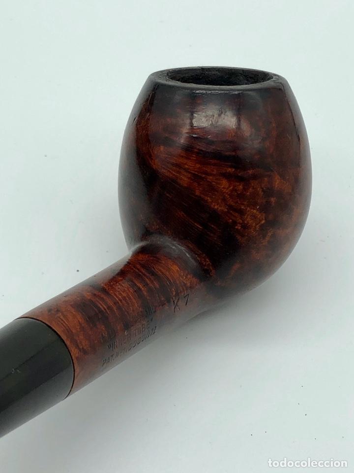 Pipas de fumar: Antigua pipa DUNHILL INNER TUBE pat.116989/17 - Foto 9 - 194285526