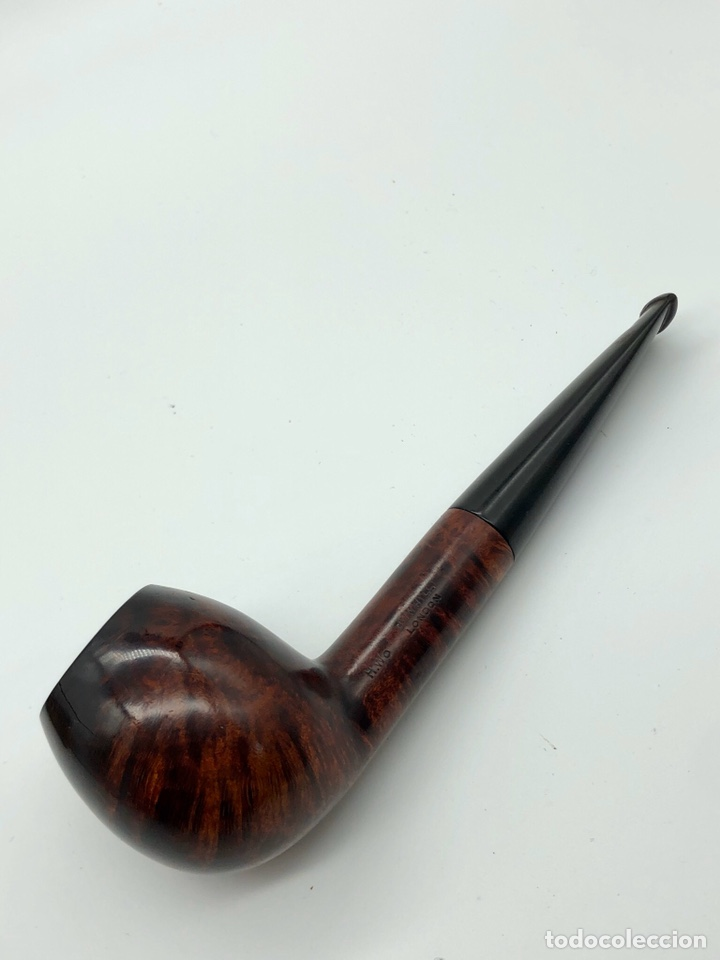 Pipas de fumar: Antigua pipa DUNHILL INNER TUBE pat.116989/17 - Foto 10 - 194285526