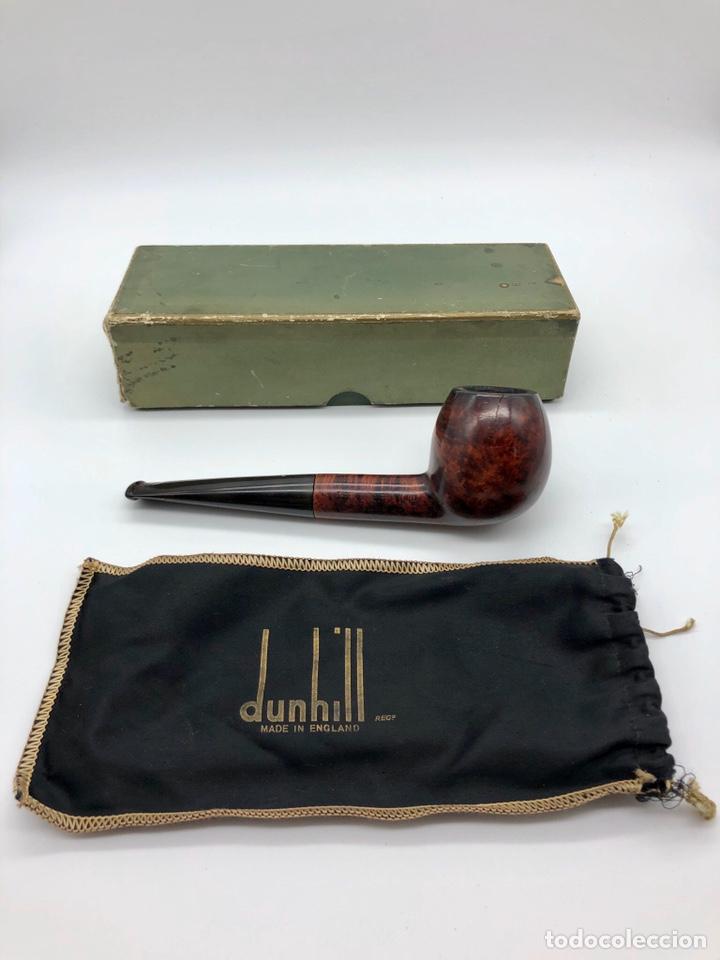 ANTIGUA PIPA DUNHILL INNER TUBE PAT.116989/17 (Coleccionismo - Objetos para Fumar - Pipas)