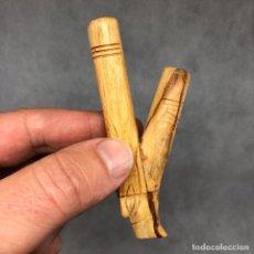 Pipas de fumar: KURIPE DE PALOSANTO PARA RAPÉ SELVA AMAZONAS PERU CHAMAN SHAMAN RITUAL REF.11. Lote 195103425