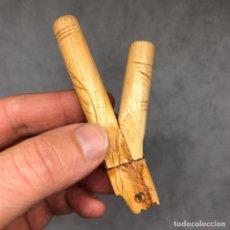 Pipas de fumar: KURIPE DE PALOSANTO PARA RAPÉ SELVA AMAZONAS PERU CHAMAN SHAMAN RITUAL REF.13. Lote 195103502