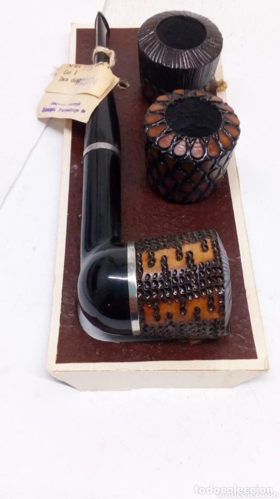 PIPA FAIKA TRES INTERCAMBIOS 12/1974 (Coleccionismo - Objetos para Fumar - Pipas)