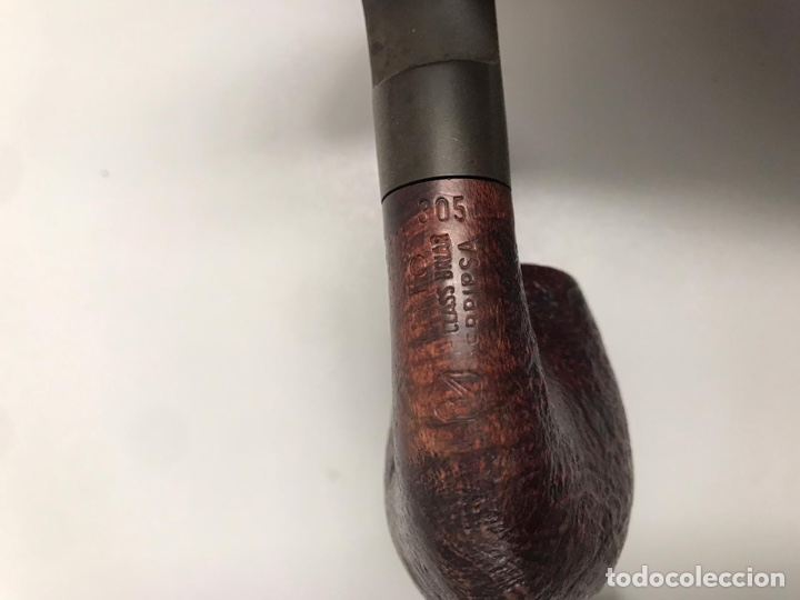 Pipas de fumar: Pipa de madera antigua - Foto 2 - 198070218