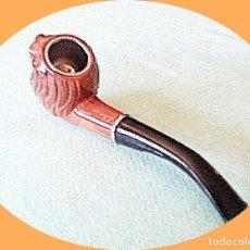 Pipas de fumar: PIPA MADERA PARA FUMAR REGALAR COLECCIONAR.. Lote 205033393