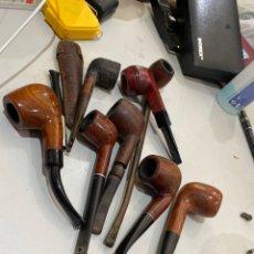 Pipas de fumar: LOTE DE 8 PIPAS DE FUMAR - VER FOTOS. Lote 205686578