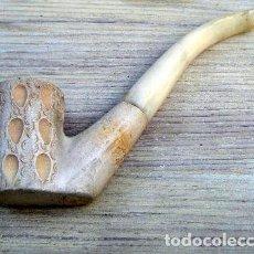 Pipas de fumar: ANTIGUA PIPA ESPUMA DE MAR Y BAQUELITA. Lote 207038897