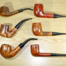 Cachimbos de fumar: 6 PIPAS DE BREZO. Lote 207189238