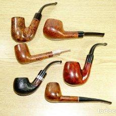 Cachimbos de fumar: 6 PIPAS DE BREZO. Lote 207189433