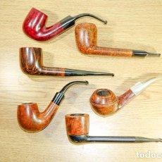 Cachimbos de fumar: 6 PIPAS DE BREZO. Lote 207189588
