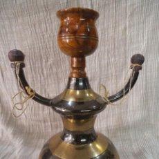 Pipas de fumar: CACHIMBA METAL GRANDE. Lote 212301146