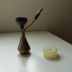 Pipas de fumar: ANTIGUA PIPA DE AGUA DE METAL DESMONTABLES- VER FOTOS Y DESCRIPCION. Lote 218278703