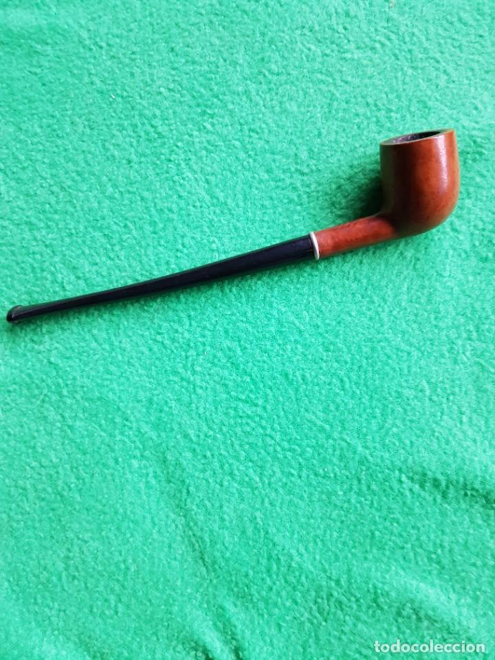 PIPA ANTIGUA FABULOSA BRUYERE BOQUILLA LARGA OPORTUNIDAD COLECCIONISTAS (Coleccionismo - Objetos para Fumar - Pipas)