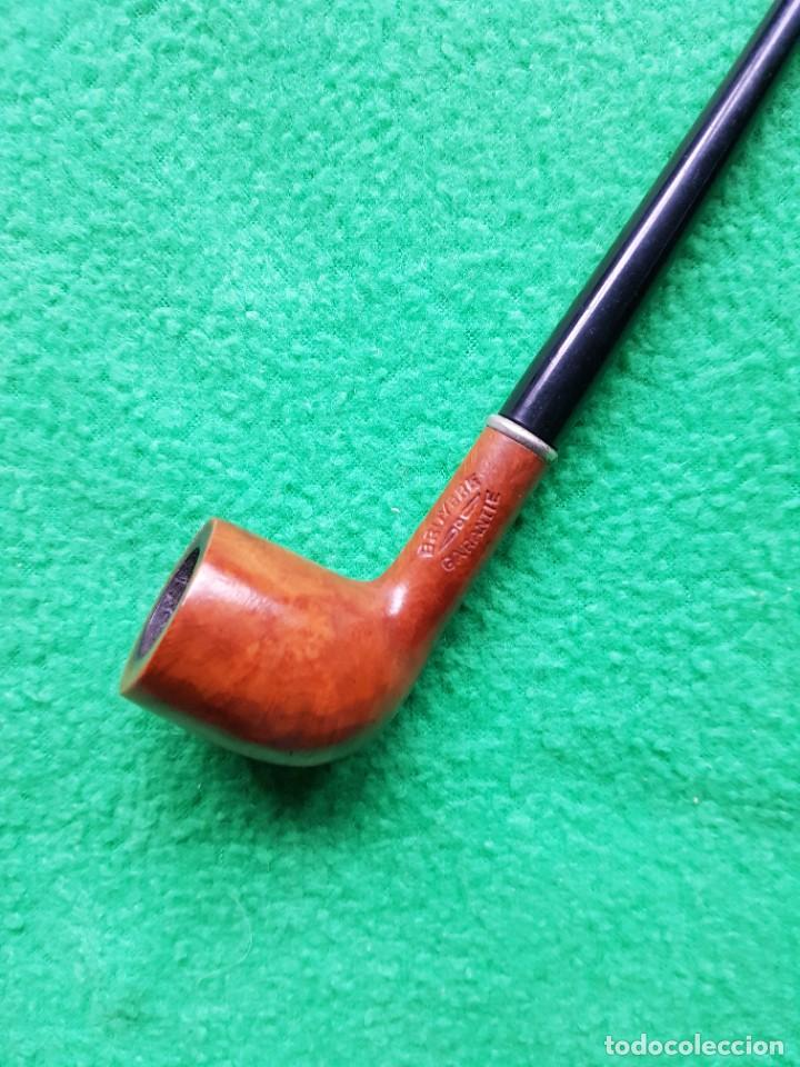 Pipas de fumar: PIPA ANTIGUA FABULOSA BRUYERE BOQUILLA LARGA OPORTUNIDAD COLECCIONISTAS - Foto 2 - 221932583