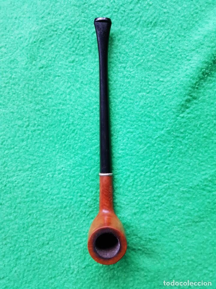 Pipas de fumar: PIPA ANTIGUA FABULOSA BRUYERE BOQUILLA LARGA OPORTUNIDAD COLECCIONISTAS - Foto 4 - 221932583