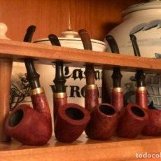 Pipe per fumare: COLECCIÓN 5 PIPAS SALVATELLA ADMIRAL NUEVAS. Lote 231900555