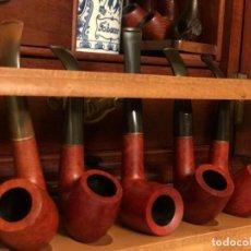 Pipe per fumare: COLECCIÓN 5 PIPAS SALVATELLA XEREZ NUEVAS. Lote 231901500