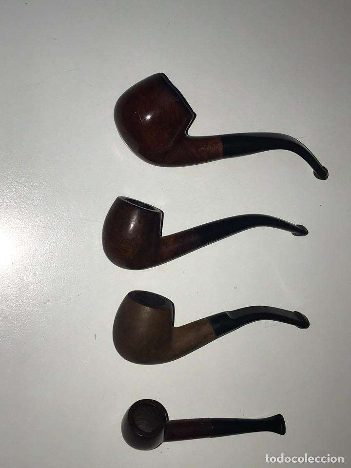 Pipas de fumar: LOTE DE 7 PIPAS Y 1 FUNDA DE FUMAR, PIPA DE AGUA ARGUILA, BAMBU, MARMOL, MARCAS ADYIN, ACIRE, COGAR - Foto 5 - 235373215