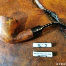 Pipas de fumar: PIPA MARINERA LARS OF DENMARK CON DOS FILTROS SCHUTZMARKE. Lote 246013295