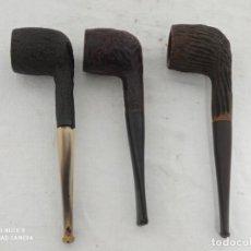 Pipe per fumare: GRAN LOTE DE PIPAS CORAL, CHAP, CAPTAIN PATTY. Lote 252422915