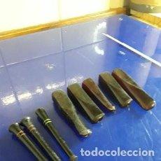 Pipas de fumar: LOTE DE 8 PIPAS DE PURO Y CIGARRILLO. Lote 262533455
