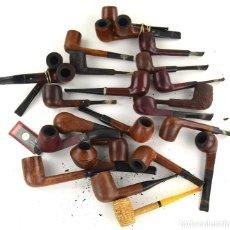 Pipes: LOTE DE PIPAS DE FUMAR, TAL CUAL SE VEN EN LAS FOTOS.. Lote 262689630