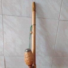Pipas de fumar: BONITA PIPA TIROLESA DE MADERA TALLADA.. Lote 266049313