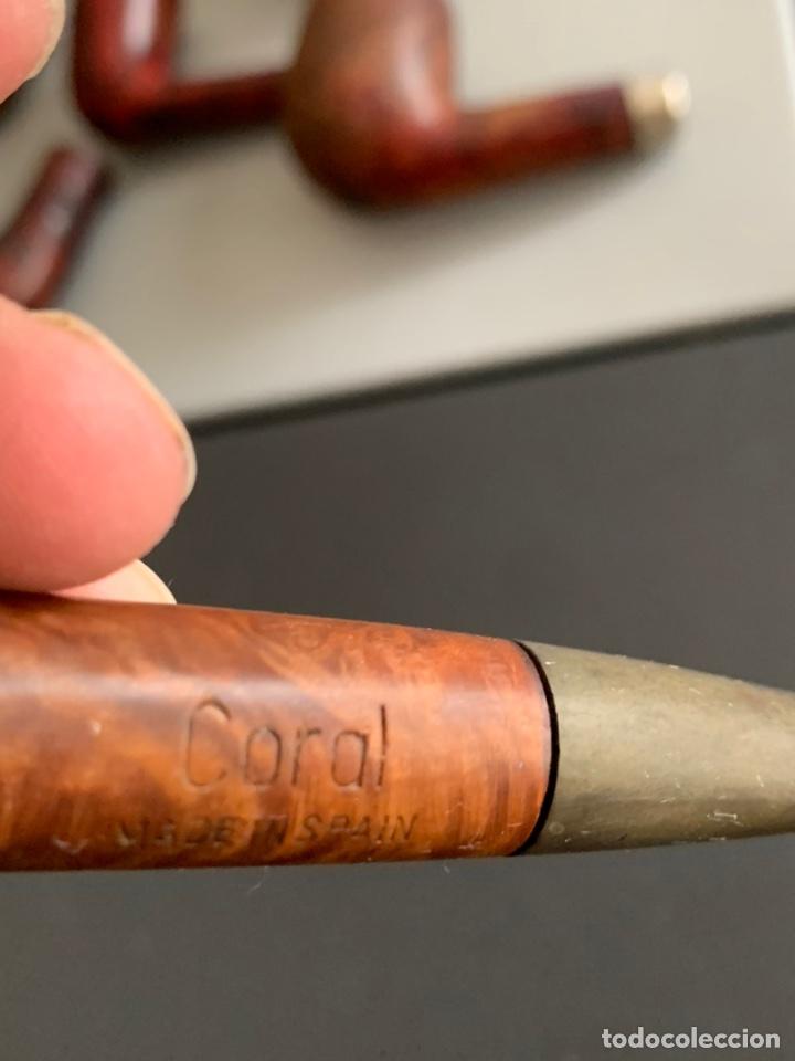 Pipas de fumar: Lote 12 PIPAS ANTIGUAS. Dr.PLUMB/EVERTEST/TOSCANA/SALVATELLA - Foto 3 - 267239684