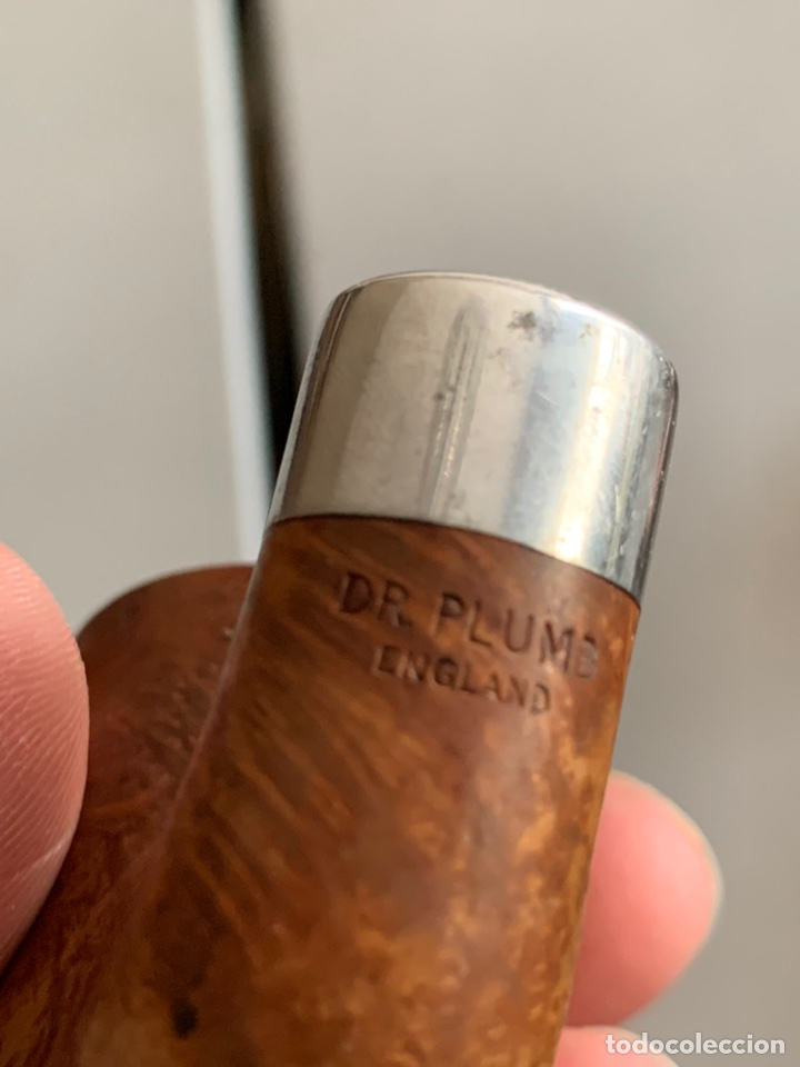 Pipas de fumar: Lote 12 PIPAS ANTIGUAS. Dr.PLUMB/EVERTEST/TOSCANA/SALVATELLA - Foto 16 - 267239684