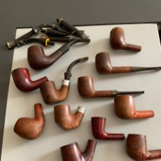 Pipas de fumar: LOTE 12 PIPAS ANTIGUAS. DR.PLUMB/EVERTEST/TOSCANA/SALVATELLA. Lote 267239684