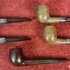Pipas de fumar: COLECCION DE 5 PIPAS PARA FUMAR. LOEWE Y FRASER. MADERA DE BREZO. SIGLO XX.. Lote 269228383