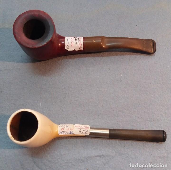 Pipas de fumar: MINI COLECC. DE 12 PIPAS DIFERENTES y VARIOS MATERIALES + PORTA PIPAS. EN BUEN USO. Individual 475 € - Foto 7 - 217809485