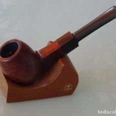 Pipas de fumar: PIPA DE FUMAR. SIN MARCA MARCAJE. CAÑO CUADRADO. 30GR. Lote 295452548