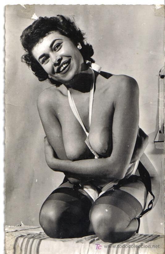 POSTAL EROTICA AÑOS 50, DESNUDO FEMENINO (Coleccionismo para Adultos - Postales Temáticas - Eróticas y Pin Ups)