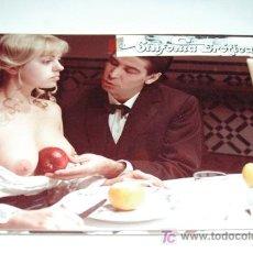 Cartes Postales: SINFONIA EROTICA - JESS FRANCO - CANDICE COSTER - 1 FOTOCROMO ORIGINAL DE CARTON . Lote 15350199