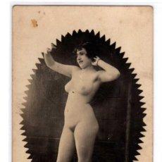 Postales: ORIGINAL. ANTIGUA POSTAL DESNUDO FEMENINO.. Lote 27021712