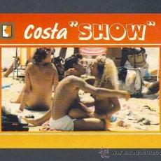Postales: POSTAL EROTICA: COSTA SHOW. DESNUDO (ESCUDO DE ORO NUM.3). Lote 218458697