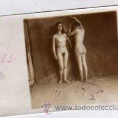 Postales: FOTOGRAFIA ORIGINAL 8,50 X 6 CM. DESNUDO ARTÍSTICO.. Lote 29165456