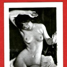Postales: ÁLBUM CON 12 MINI POSTALES ERÓTICAS DE ÉPOCA TIPO FOTOGRÁFICAS - DESNUDOS FEMENINOS - SENSUAL . Lote 29392204