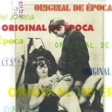Postales: (PS-26757)POSTAL FOTOGRAFICA PORNOGRAFICA PRINCIPIOS DE SIGLO ORIGINAL. Lote 30575621