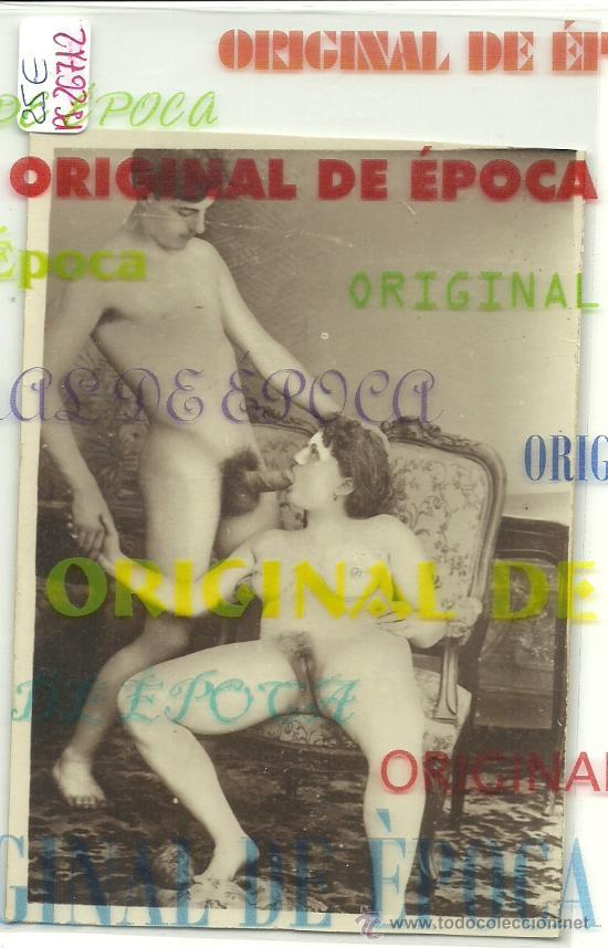 (PS-26712)POSTAL FOTOGRAFICA PORNOGRAFICA PRINCIPIOS DE SIGLO ORIGINAL (Coleccionismo para Adultos - Postales Temáticas - Eróticas y Pin Ups)