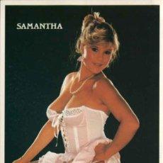Postales: POSTAL SEXI, EROTICA DE SAMANTHA. Lote 31229144