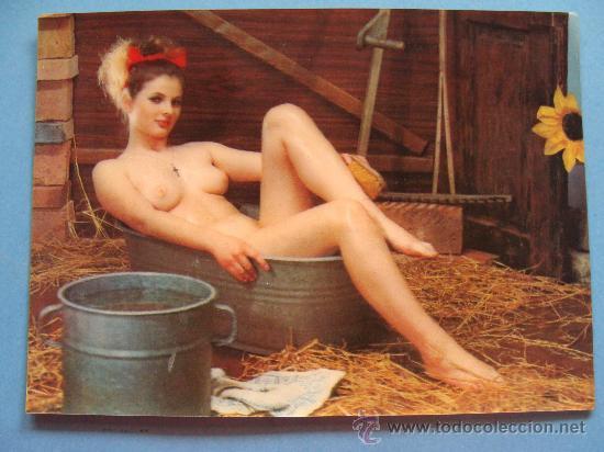 Postal De Desnudos Años 60 70 Mujer Desnuda Sold Through