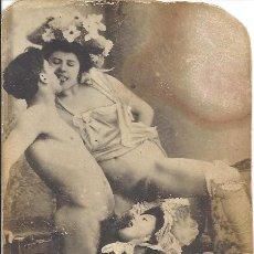 Postales: PS3126 LOTE DE 39 POSTALES Y TARJETAS PORNOGRÁFICAS DE DIFERENTES EPÓCAS. ALGUNAS DE PRINC. DE S. XX. Lote 212320266