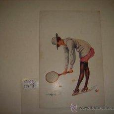 Postales: POSTAL ILUSTRADA IMAGEN ERÓTICA DE MUJER, PENOT, SÉRIE Nº9 - 44 TENNIS FÉMININ.. Lote 35509686
