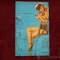 Postales: POSTAL ERÓTICA- PIN-UP. A MUTOSCOPE CARD. AÑOS 40. USA.. Lote 35655821